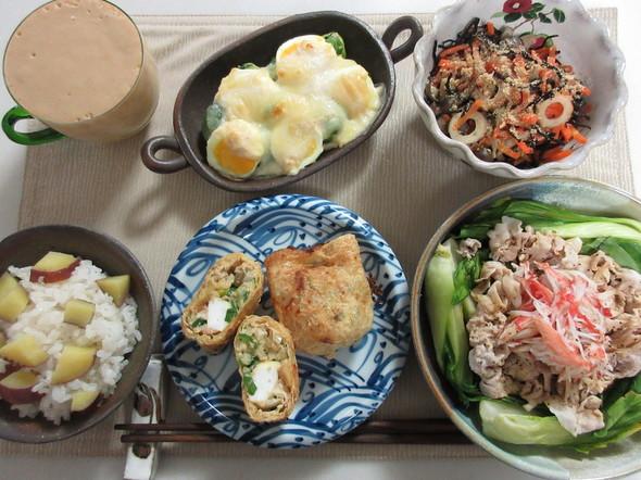 簡単♡芽キャベツの味噌グラタン♡の朝御飯