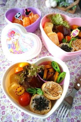 【3歳娘&ママ用】お友達とお弁当ランチ♡