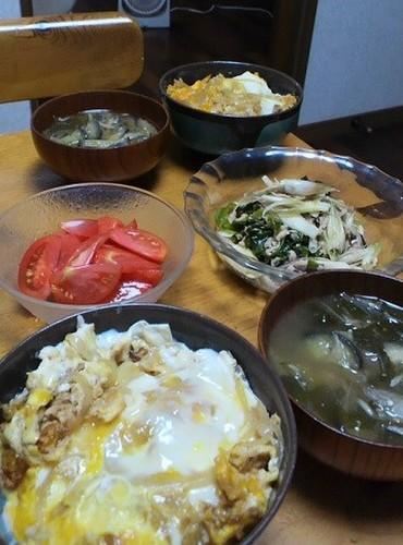12.08.30(木)玉子丼…★