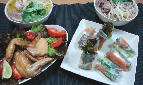 ベトナム風?夕食