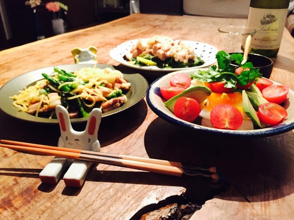 チーぺぺ&ピータン豆腐風で晩酌☆