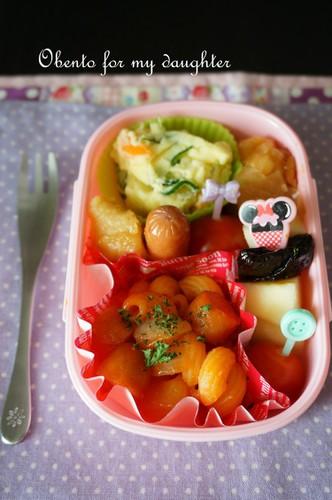 【幼稚園年少娘】GW明けのお手軽弁当
