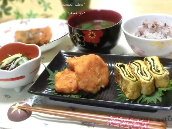 ♡お魚の夕ご飯♡