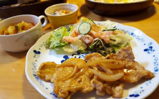 タモリ 生姜焼き