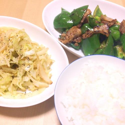 夏野菜の夕ごはん☆