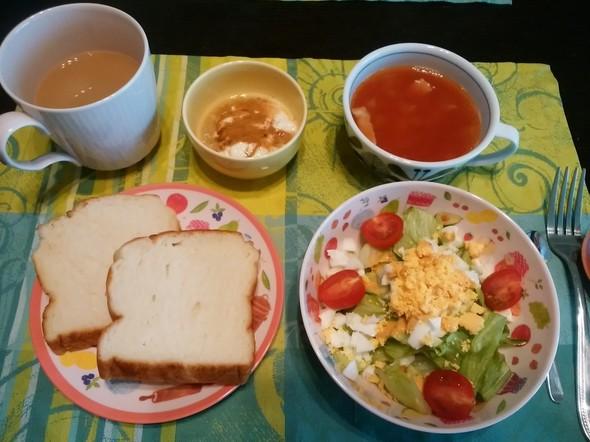 今朝の朝食♡