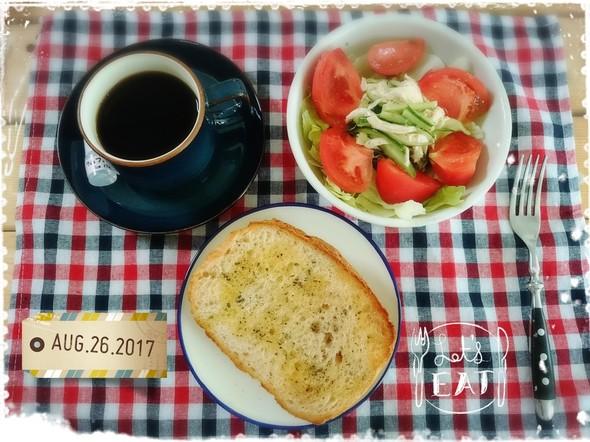 美味しい朝食♡オリーブオイルトースト♡