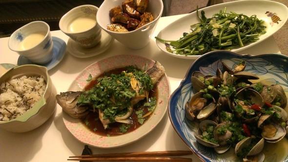魚介類をメインにした和食