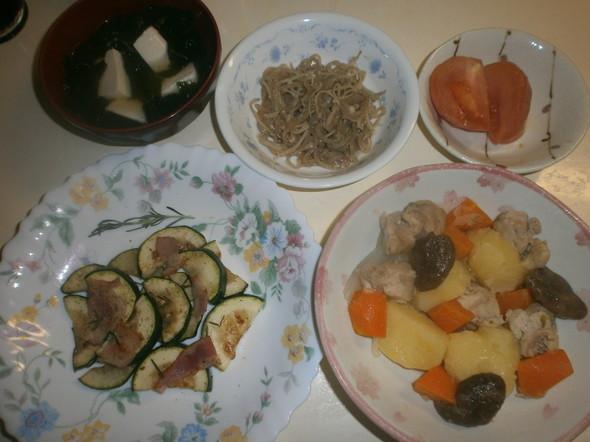 鶏肉とじゃが芋の甘酢煮