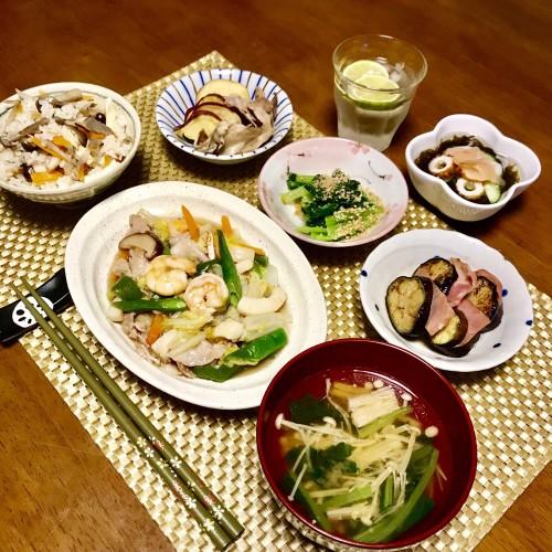 簡単♪おいしい☆私の八宝菜♡の晩ご飯~♪