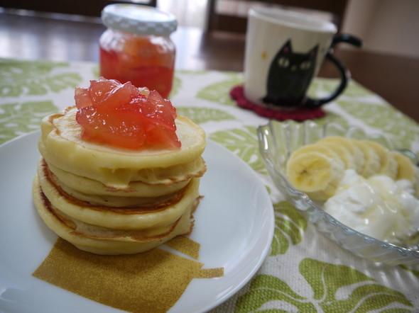 ふわ②もち②朝食。