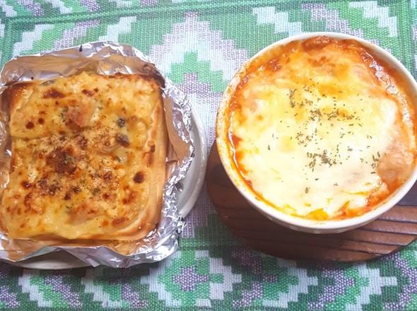 グラタンパン トマトグラタンスープ