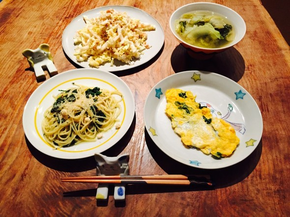 パセリ&白菜晩酌☆