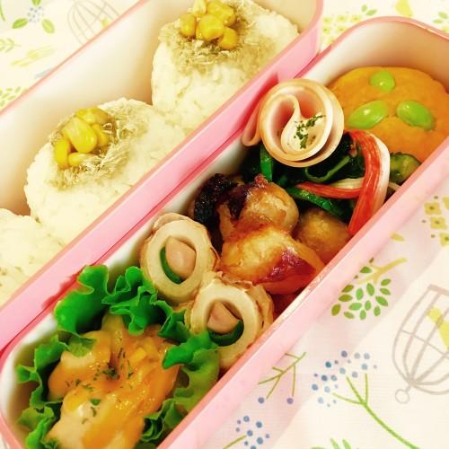 今日は寒そう(>人<;)お弁当