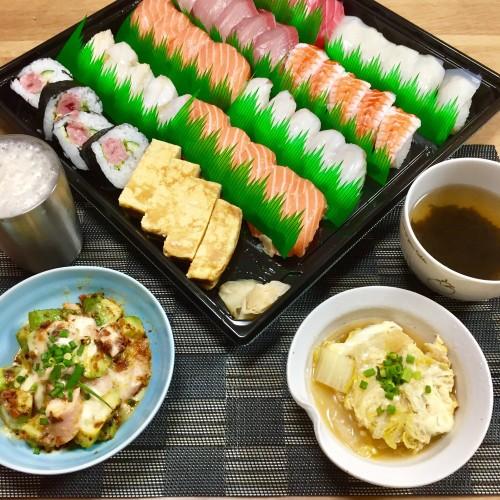 お寿司な晩酌☆彡