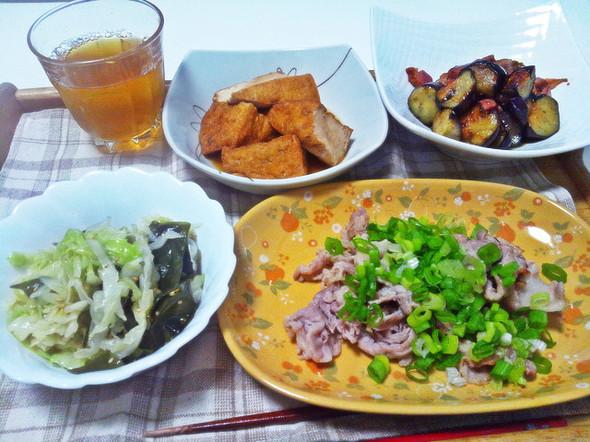 お家にあるもので手軽に出来る美味しい夕飯