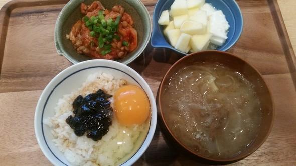 朝食風昼食