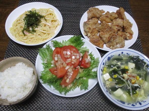 2018/2/8今日からご飯付いての夕食