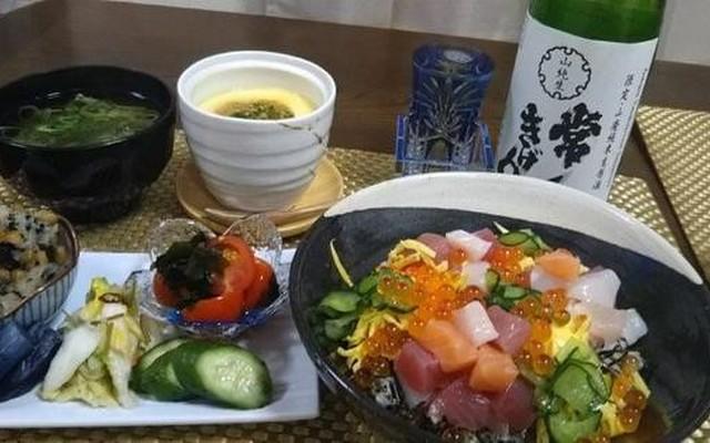 寿司 献立 ちらし