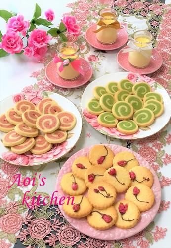 春のクッキー