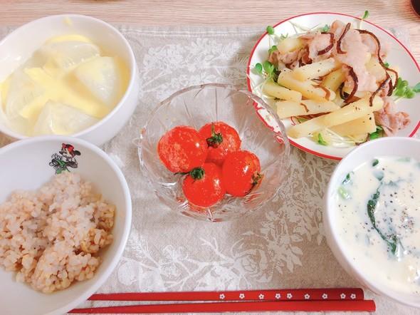3/26 洋食 :-)