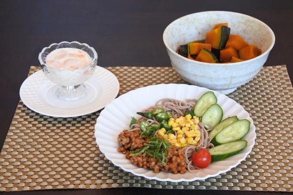 ネバネバ蕎麦deシンプルマイランチ ❀