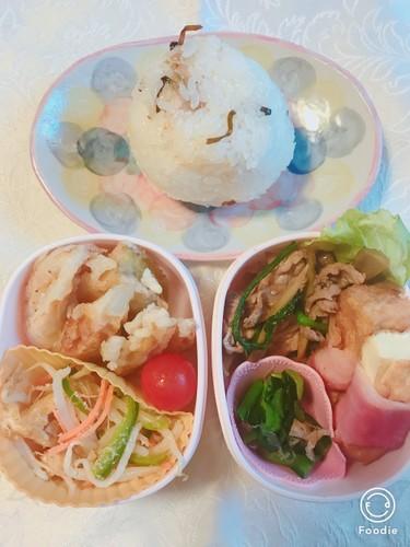 【春菊・ごぼう・牛肉で】甘辛煮4/26