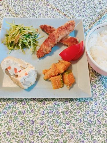 ☆モロッコ巻き巻き豚カツ☆6/9