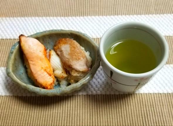 お寿司の天ぷら 緑茶