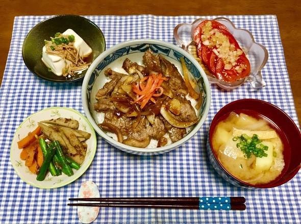 簡単♡牛丼