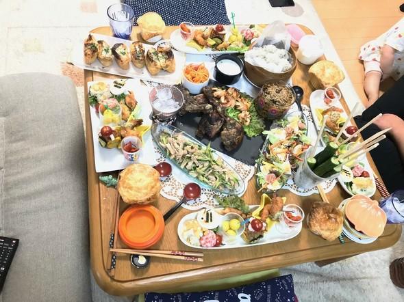 ホームパーティで美味しい食卓☆