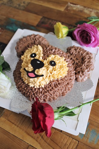 姪っ子ちゃんの誕生日に♡ダッフィーケーキ