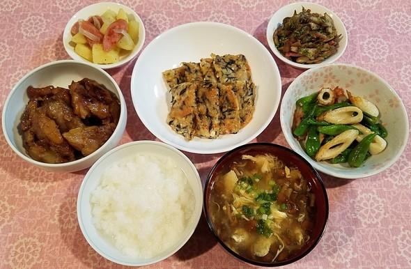 擬製豆腐錦焼き&豚の軟骨のとろとろ煮