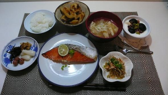 シニア夫婦の食卓♪