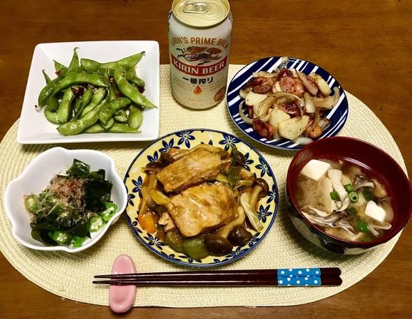 ☆鮭のちゃんちゃん焼き☆