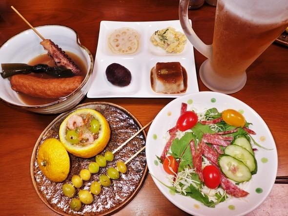柚子釜と銀杏焼き