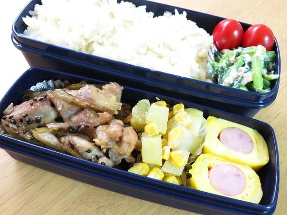 食欲UP☆鶏ごぼうソテー弁当