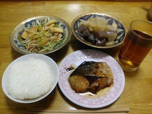 奈良マラソンまであと5日の夕食
