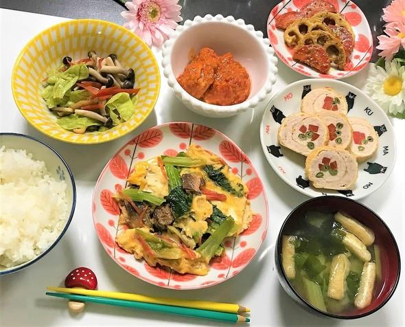 卵とじと信田巻と美味しいレシピ♡