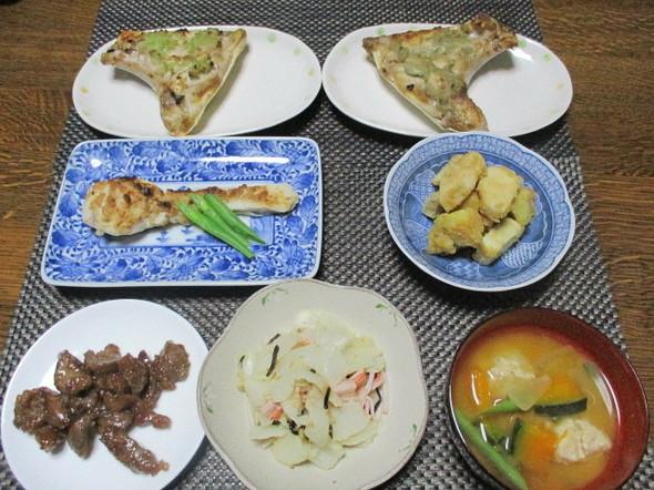2019/1/12鱈のゴマ味噌マヨ焼き