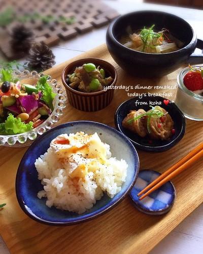 朝ごはん*和食