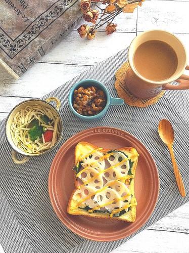朝ごパン*和トースト