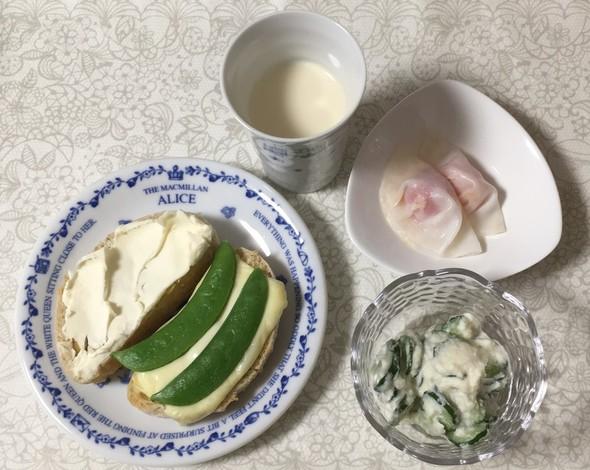 気になるレシピで春っぽい朝食♪