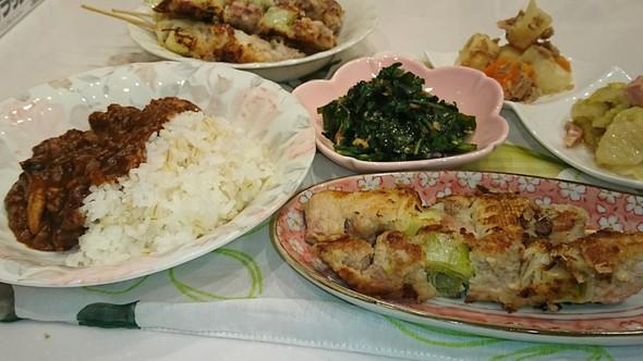 夕食 ハヤシライス