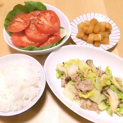 野菜たっぷりの夕ごはん☆