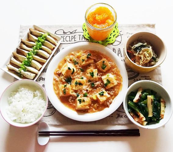 子どもも食べれる♪甘口麻婆豆腐で晩ごはん