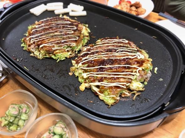 野菜たっぷり鉄板焼き♪︎
