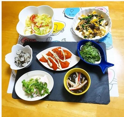 具沢山スープが主食ダイエット中夫晩ご飯☆