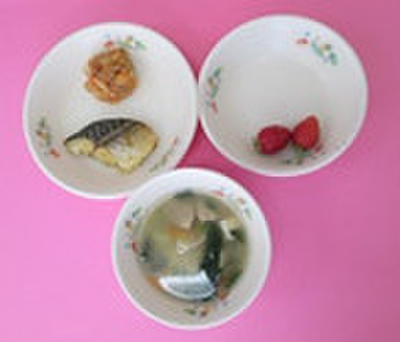郷土料理の給食メニュー@つくば市幼児食