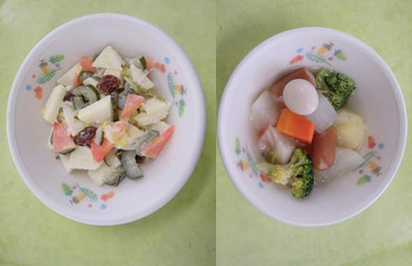 1月の幼児食メニュー@つくば市幼児食
